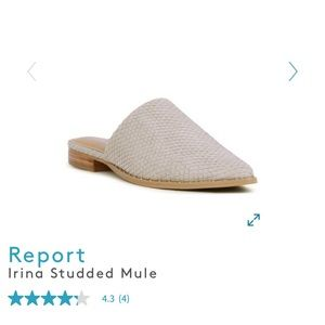 Report Irina Studded Mule flats. Worn 1 time